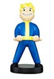 Cable guy Vault Boy, soporte de sujeción o carga para mando de consola y/o smartphone de tu personaje favorito con licencia de Fallout 76. Producto con licencia oficial. Exquisite Gaming