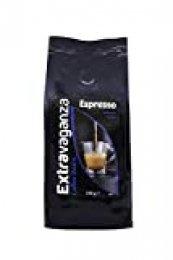 Extravaganza - Café expreso en grano, 250 g (lote de 12)