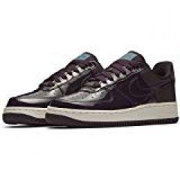Zapatos Mujer Zapatillas Air Force 1 07 en Cuero Beige AH6827-200