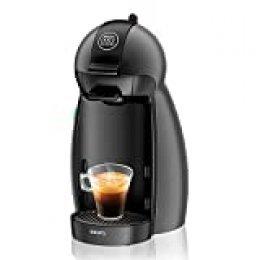 Krups KP100B Cafetera Dolce Gusto cápsulas, monodosis, 15 bares presión, cafés, cappuccino, multibebida, 1500 W, 0.6 litros, antracita