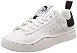 Diesel S-Clever Low W, Zapatillas para Mujer, Blanco H1527 H1527, 35 EU