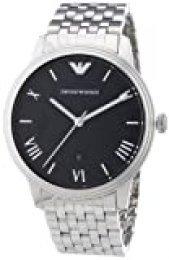Emporio Armani Reloj Analógico para Hombre de Cuarzo con Correa en Acero Inoxidable AR1614