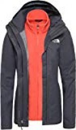 The North Face W Evolve II Triclima Chaqueta, Mujer, Vanadis Grey/Ra, L