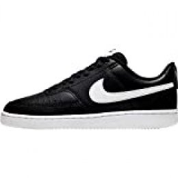 NIKE Wmns Court Vision Low, Zapatillas para Mujer, Multicolor Black White 001, 39 EU