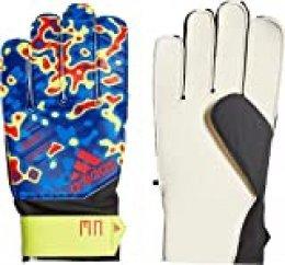 adidas PRED YP MN Guantes de Fútbol, Unisex Adulto, Solar Yellow/Football Blue/Active Red, 10