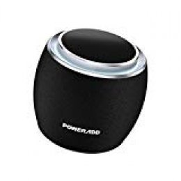POWERADD Dee-G Mini Altavoz Inalámbrico Portátil, 5W Wireless Bluetooth 4.2, 3D Sonido Digital con 8 Horas de Emisión Continua Compatible con Android, Windows, iOS, Con Aux Cable