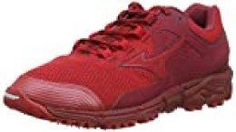 Mizuno Wave Daichi 5, Zapatillas de Running para Asfalto para Hombre, Rojo (Cred/Cred/Biking Red 60), 44.5 EU