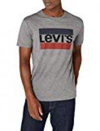 Levi's Graphic Camiseta, Gris (84 Sportswear Logo Grey Midtone Grey Htr 0002), Medium para Hombre