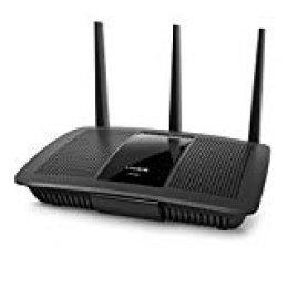 Linksys EA7300 Router WiFi de Doble Banda MU-MIMO AC1750 MAX-Stream para el Hogar (Router Inalámbrico Rápido, Streaming en UHD 4K, Juego Multijugador y 4 Puertos Gigabit)