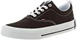 Tommy Hilfiger Classic Low Tommy Jeans Sneaker, Zapatillas para Hombre, Negro (Black Bds), 40 EU