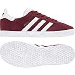 adidas Gazelle, Zapatillas de deporte Unisex niños, Rojo (Collegiate Burgundy/Footwear White/Footwear White 0), 36 EU