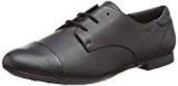 Geox JR Plie' F, Zapatos de Cordones Oxford para Niñas