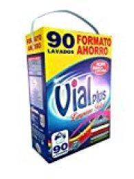 Vialplus Detergente, 90 Lavados, Azul - 6300 gr