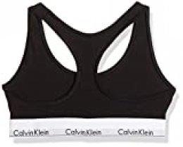 Calvin Klein 0000F3785E, Sujetador para Mujer, Negro (Black)