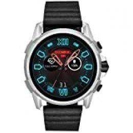 Diesel Smartwatch Pantalla táctil para Hombre de Connected con Correa en Piel DZT2008