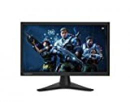 "Lenovo G24 -Monitor de 23.6"" (Pantalla FullHD, 1920 x 1080 pixeles, tiempo de respuesta de 1ms, HDMI+DP, FreeSync, TN, 144 Hz), Color negro"