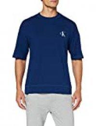 Calvin Klein S/S Crew Neck Top de Pijama para Hombre