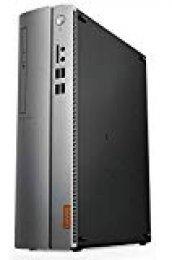 Lenovo Ideacentre 510S-07ICB - Ordenador de sobremesa (Intel Core i3-8100, 8GB RAM, 256GB SSD, IntelHD Graphics, sin Sistema operativo) Plata