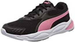 PUMA 90S Runner, Zapatillas Unisex-Adulto, Negro Black/Bubblegum White, 42 EU