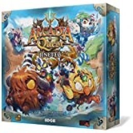 Edge Entertainment- Arcadia Quest: Jinetes - Español, Color (EECMAQ32)