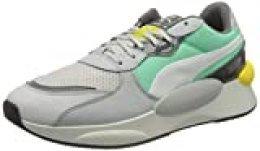 PUMA RS 9.8 Fresh, Zapatillas para Hombre, Gris (Glacier Gray/Green Glimmer), 38 EU
