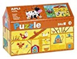 APLI Kids - Puzzle casita Granja