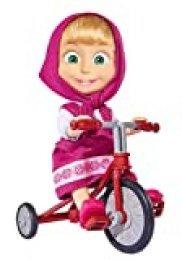 Muñeca Masha de 12cm de Masha y el Oso con triciclo (Simba 9302059)