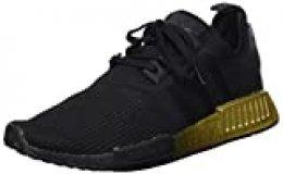 adidas NMD_r1 W, Zapatillas para Mujer, Core Black/Core Black/Carbon, 37 1/3 EU