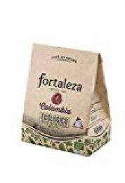 Café FORTALEZA - Café Grano Ecológico Colombia bolsa 250 gr [Pack de 3]