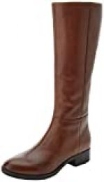 Geox D Felicity D, Botas Altas para Mujer, Marrón (Brown C0013), 36.5 EU