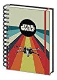 Cuaderno de notas A5con espiral-Star Wars (Nostalgia)