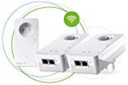 Magic 8392 Kit Red Powerline Wi-Fi Mesh Blanco