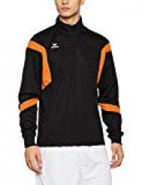 Erima GmbH Classic Team Top de Deporte, Unisex Adulto, Negro/Naranja, L