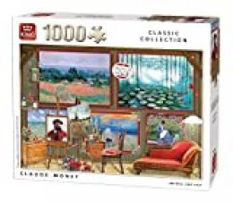 King-Claude Monet-Puzzle (1000 Piezas), Color, 68x49 cm (55864)