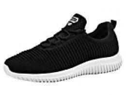 riemot Zapatillas Deportivas para Interior para Mujer, Zapatos para Correr Deporte al Aire Libre Running Fitness Gimnasio Súper Ligeras y Transpirables Sneakers Calzado Casual