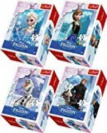 Frozen Mini Puzzle 4-Piece Set Elsa, Anna, Olaf and Kristoff