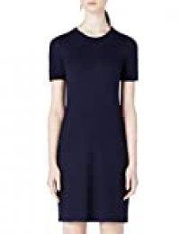 Marca Amazon - MERAKI Vestido Camiseta Slim Fit Mujer