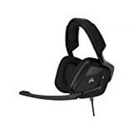 Corsair Void Pro Surround, Auriculares Gaming (Pc/Ps4/Xone, USB/3.5mm, Dolby 7.1), Alámbrico, Negro