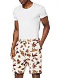 Scotch & Soda All-Over Printed Short In Pima Cotton Quality Pantalones Cortos, Multicolor (Combo B 0218), W32 (Talla del Fabricante: 32) para Hombre