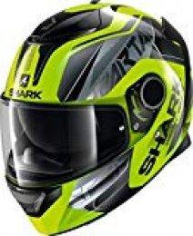 Shark Casco de moto Sparan 1.2 KARKEN HV YKK, Jaune, L