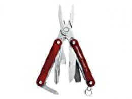 Leatherman 831227 SQUIRT PS4, red