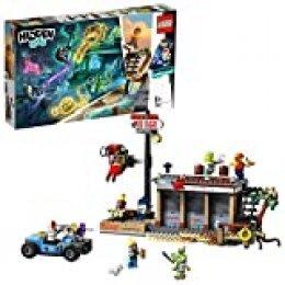 LEGO - Hidden Side Ataque al Shrimp Shack Juguete de construcción con realidad aumentada, incluye un local y un coche para crear aventuras, Novedad 2019 (70422)