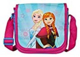 Undercover – Bolsa de Deporte Infantil, diseño de Frozen, Aprox. 21 x 22 x 8 cm, Color Rosa