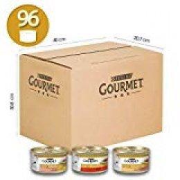 Gourmet Gold-Dados en Salsa para Gatos, 12Paquetes de (8x 85gr)