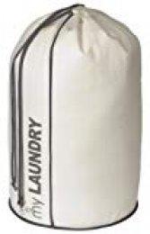 Compactor Bolsa para la Colada, Blanco, Polipropileno, Diámetro 38.5 x H.70 cm, RAN4401, Non Woven 75G, 38.5 cm