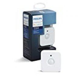Philips Hue Sensor de Movimiento, Enciende las Luces con Detección de Presencia, Compatible con Control por Voz