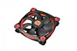 Thermaltake Riing 14 LED - Ventilador de 140 mm, Color Rojo