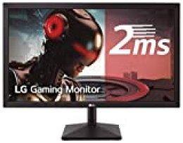 "LG 27MK400H-B - Monitor Gaming FHD de 68,6 cm (27"") con Panel TN (1920 x 1080 píxeles, 16:9, 2 ms, 75Hz, 300 cd/m², 1000:1, NTSC >72%) Color Negro Mate"