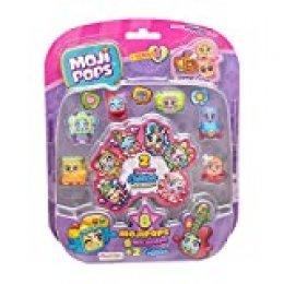MOJIPOPS - Blister 8 figuras (6 figuras MojiPops y 2 exclusivas figuras Glitter)