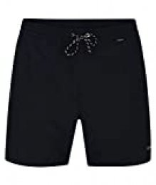 Hurley M One&Only Volley 17' Bañador, Hombre, Obsidian, S